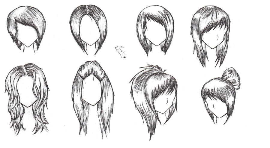 Female Hairstyles by alicewolfnas on DeviantArt