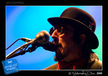 Les Claypool I by kebekershuki