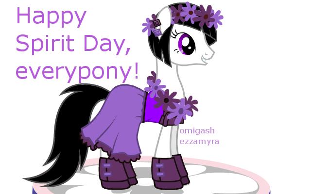 Spirit Day (yesterday) by omigashezzamyra
