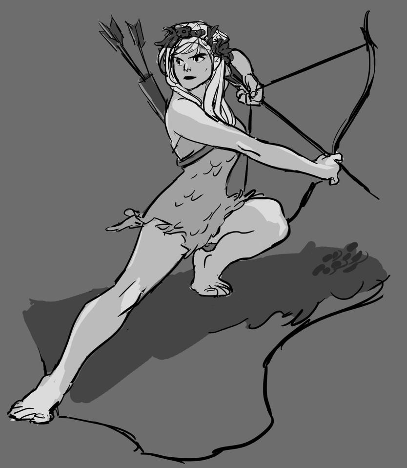 Artemis by benkate