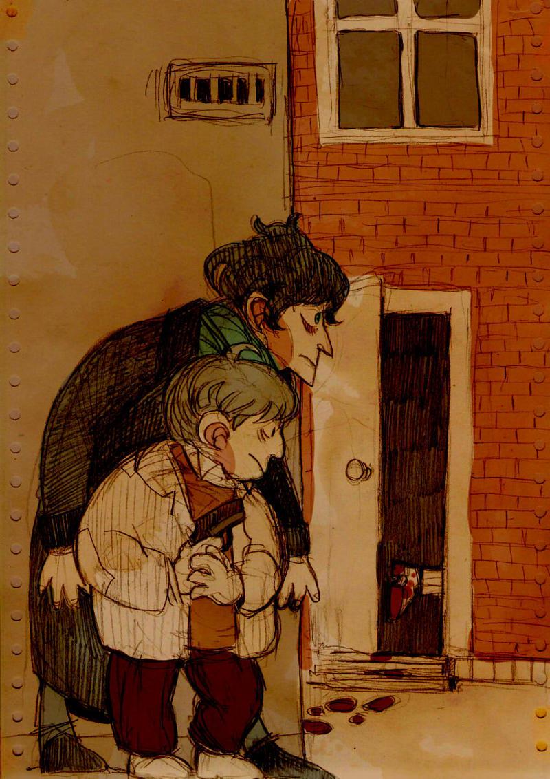 Sherlock and John by mrBroucek