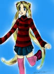Sailor  Moon  by  Master-Lamia