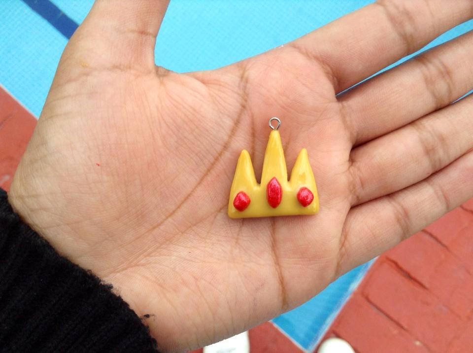 Adventure Time Ice King's crown necklace! by Saloscraftshop