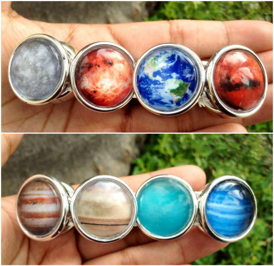 Solar system planets bracelet by Saloscraftshop on DeviantArt