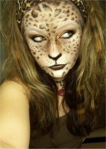 leopard woman by LePr0sY on DeviantArt