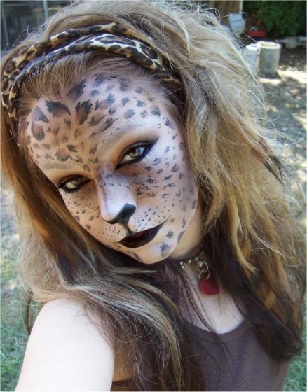 leopard woman 1 by LePr0sY