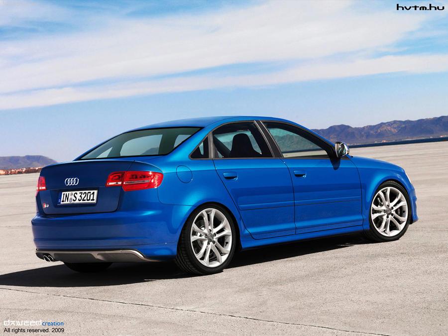 Audi s3 Sedan Blue Audi s3 Sedan by Daweedh