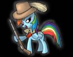 Rainbow Dash Musketeer