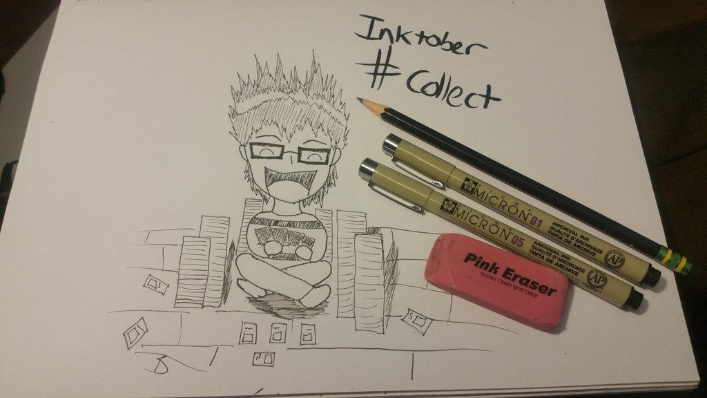Inktober #Collect by Xzeron454