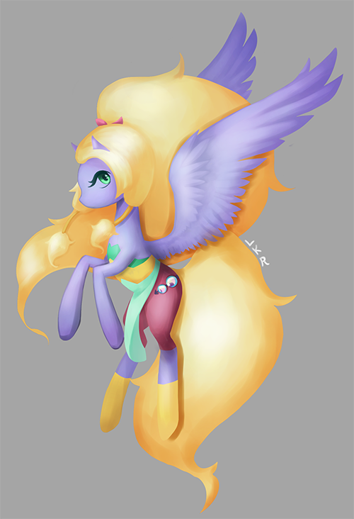 Steven Universe Pony Opal