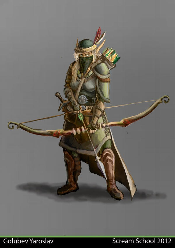 Elf-Ranger by NiFirr