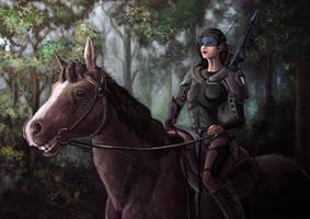 Forest patrol by NiFirr