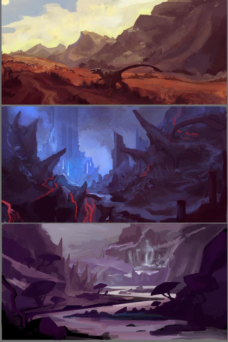 Fantasy Lands by NiFirr