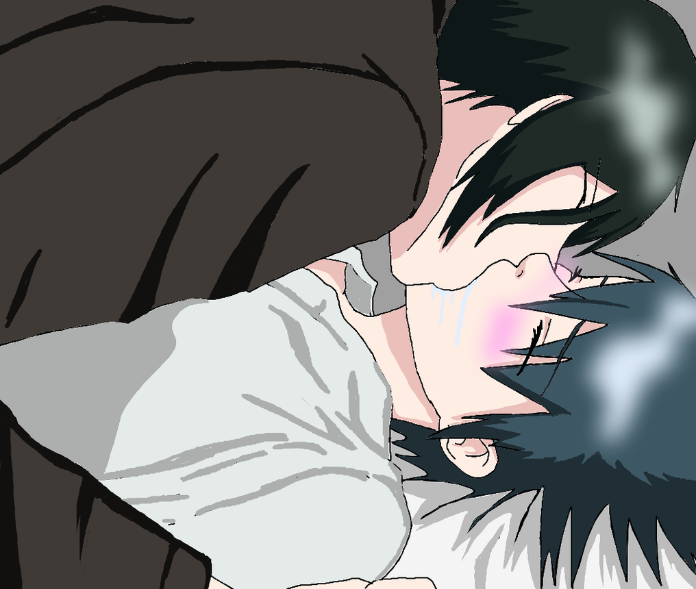 ciel and sebastian kiss - photo #17