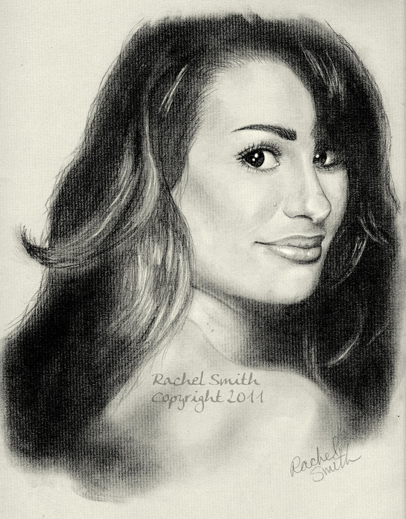 Lea Michele by withering-black-rose