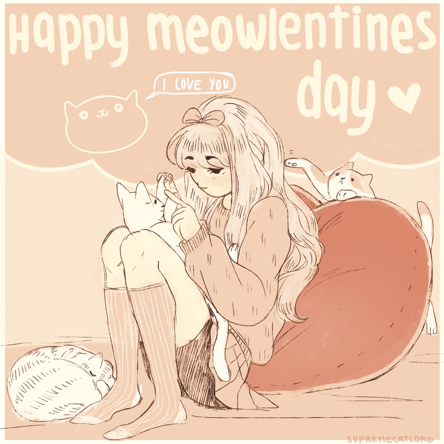 Meowlentines by supremecatlord