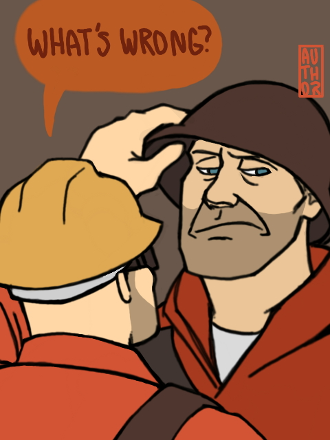His Helmet Straps are Missing by authordepechepolitik