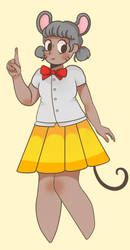 ABC Mouse-chan by TroubleLooksForMe