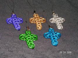 Aluminum crosses by JarethValentine
