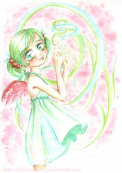Magical Angel by goobiedoll