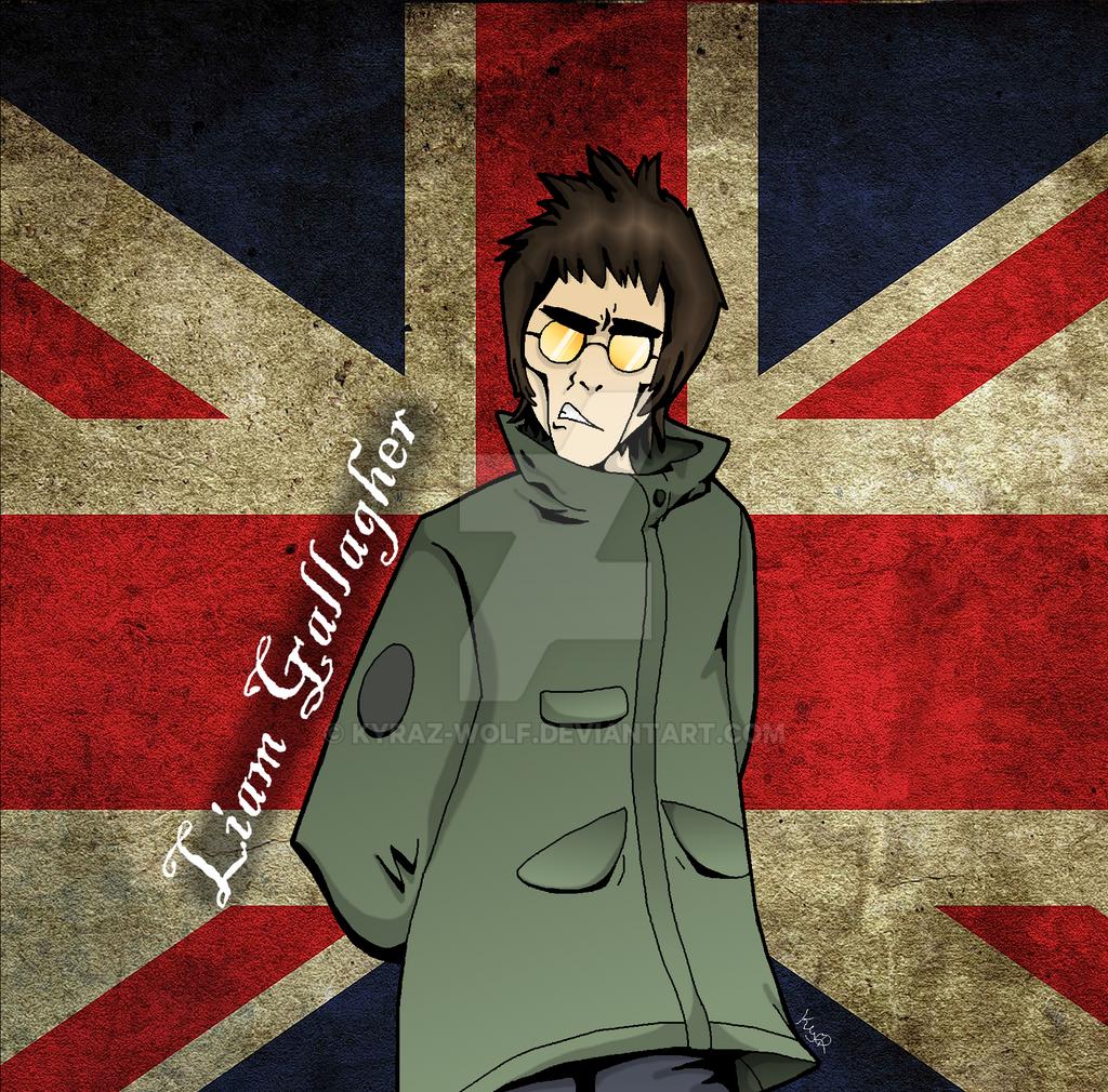 Liam Gallagher D By Kyraz Wolf On Deviantart