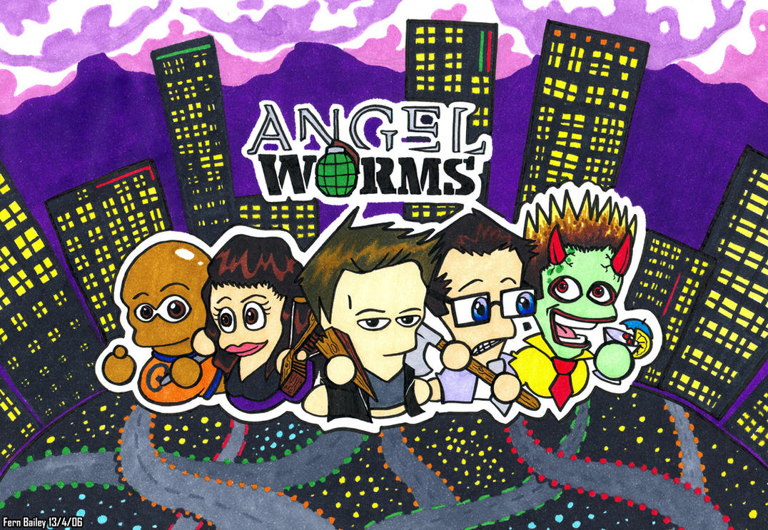 Angel Worms by Angel-fan-club