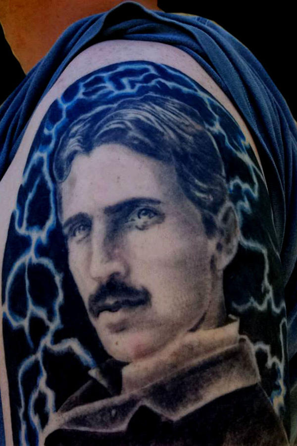 Tesla Portrait. by bekrah