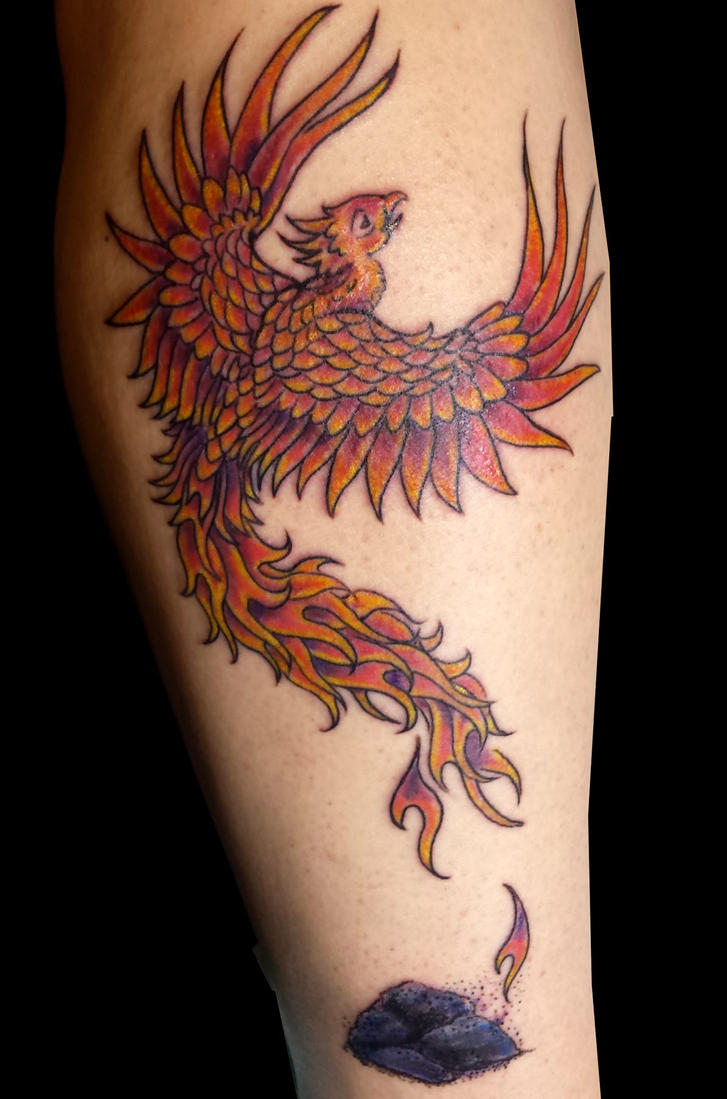 Phoenix Coverup by bekrah