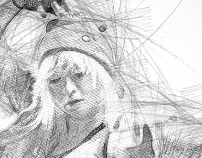 2B Sketch by kenoric