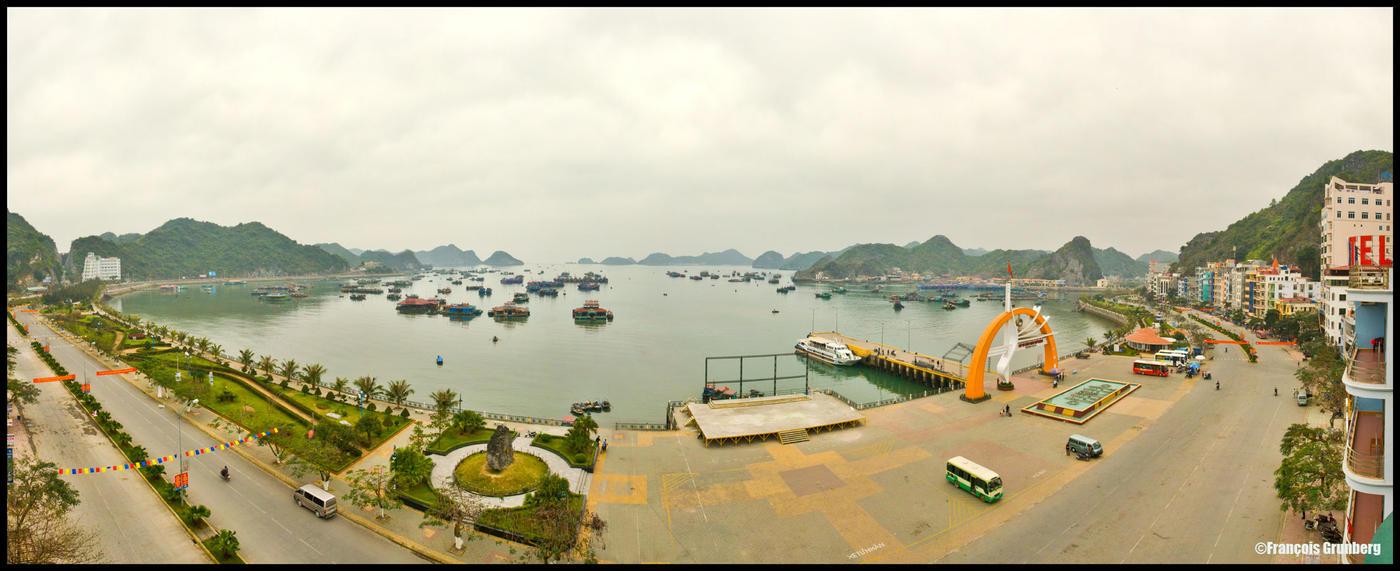 vue sur la baie d'Halong by partoftime