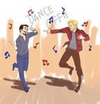Dance Off!! Stark vs Quill