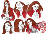 Scarlet Witch sketches