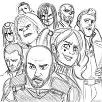 Suicide Squad by pencilHead7