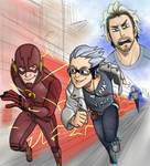 Flash vs Quicksilvers