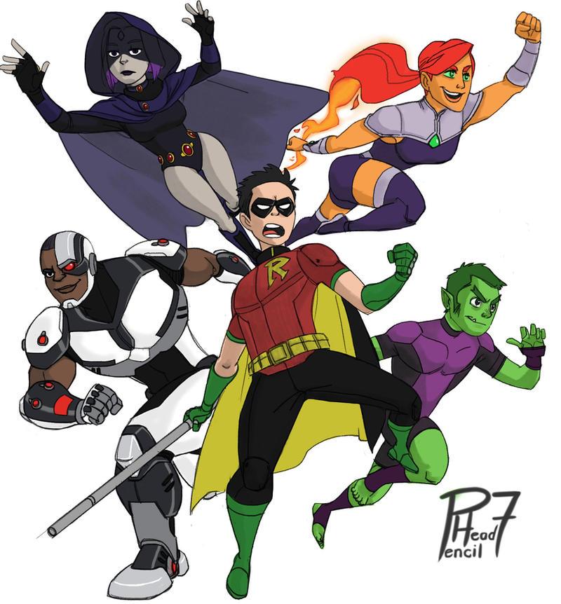 Deviant Art Teen Titans 84
