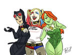Gotham Sirens colored