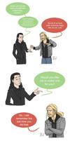Thor and Loki by pencilHead7