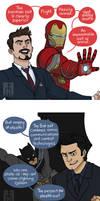 Stark vs Wayne 2