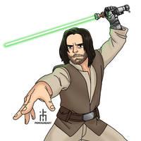 Luke 'Bucky' Skywalker by pencilHead7
