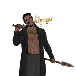 Erik Killmonger by pencilHead7