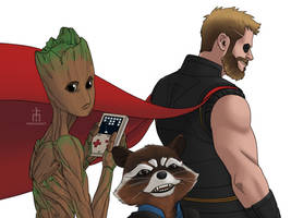 New Team Thor by pencilHead7