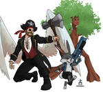 Pirate Angel and Crew
