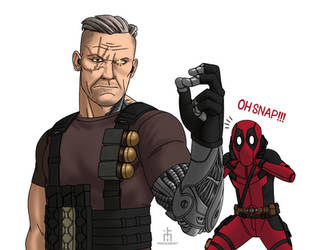 Cable snap by pencilHead7