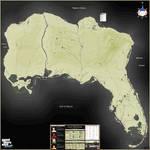 Grand Theft Auto: Gulf Atlantic Map