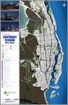 Southeast Flolana Tourism GTA Map