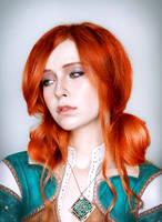 triss merigold by NMamontova