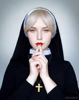 Sister Mary Eunice by NMamontova