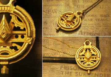 Super Time Travel Watch Compass Pendant by soupcan13