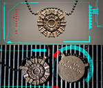Heart of Iron - Ironman Arc Reactor Pendant
