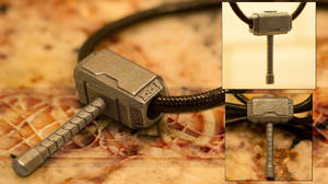 Drop the Hammer - Mjolnir Pendant